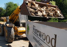 Logs delivered to Cambridge